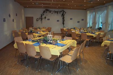 Festsaal in der Grossheppacher Kelter