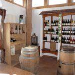 Weinverkaufsraum in der Grossheppacher Kelter